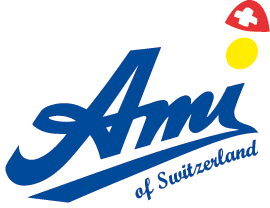 Logo Ami of switzerland weiss RGB